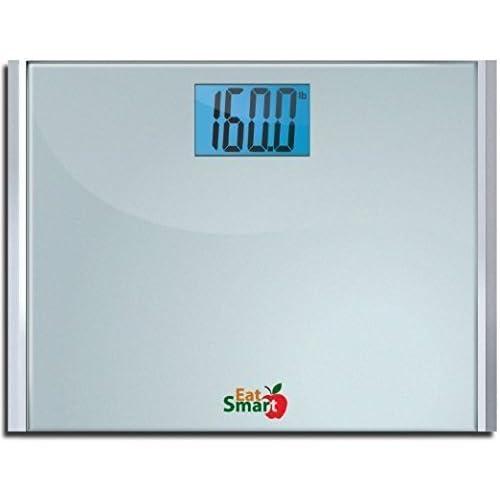 Eatsmart Precision Plus Digital Bathroom Scale with 15