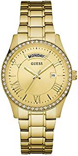 Guess Dress Watch for Women, Stainless Steel, Analog - W0764L2