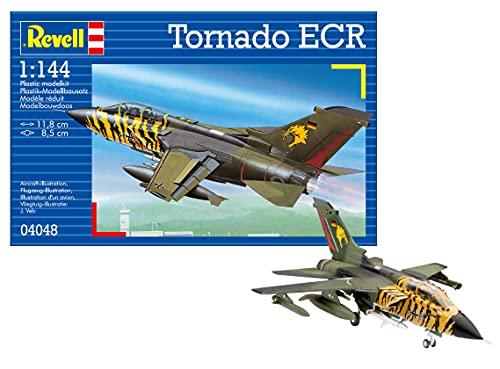 Revell Modellbausatz Flugzeug 1:144 - Tornado ECR im Maßstab 1:144, Level 3, originalgetreue Nachbildung mit vielen Details, 04048
