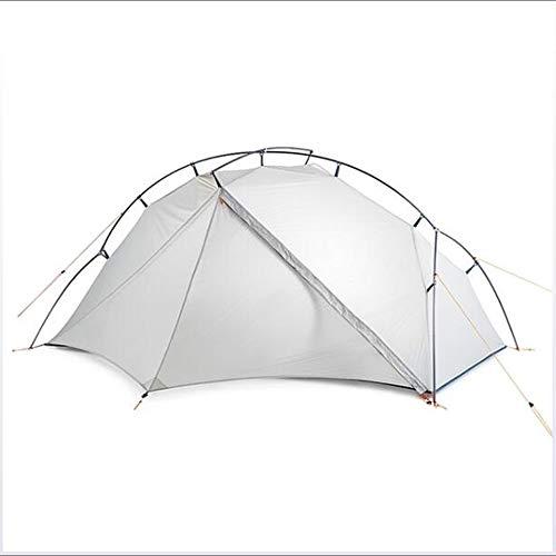 Familietent Buiten Lichtgewicht Winddicht Regen Waterdicht Dubbellaags Tent met tent 1500-2000 mm voor kamperen/wandelen/grotten verkennen Reizen Nylon Silicagel 210 * 65 + 85 + 50 * 95 cm