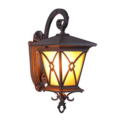 Lámpara de Pared Lámpara de Pared lámpara al Aire Libre del Patio Impermeable al Aire Libre balcón terraza Pared Exterior lámpara de Pared del Pasillo salón Puerta Chalet Luces de Pared