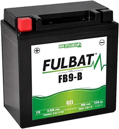YB9 YB9-B Batterie FULBAT GEL MALAGUTI MADISON CIAK 125 150 200 VESPA GT 125