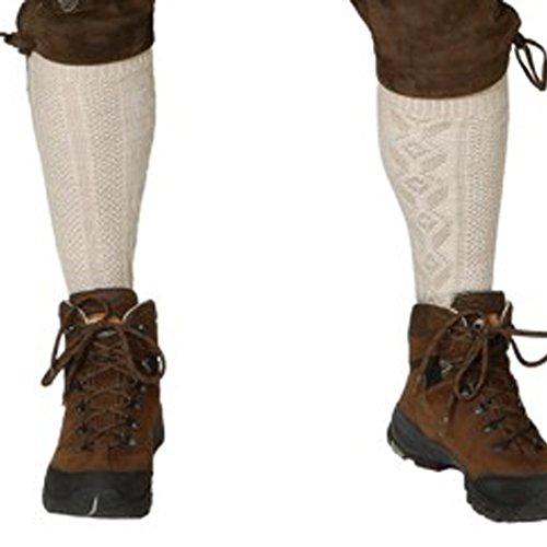 NET TOYS Herren Kniestrümpfe Oktoberfest Socken Trachtensocken Trachtenmode Trachtenstrümpfe Knie Strümpfe Trachten