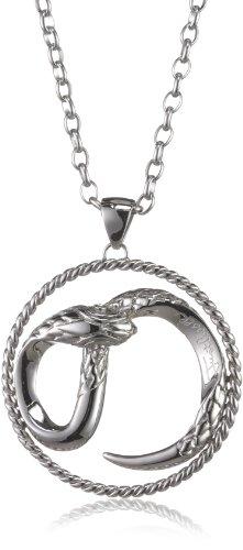 Just Cavalli Circular Snake - Collar de latón