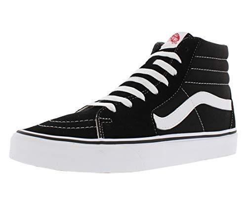 Vans Sk8-Hi, Sneakers Alti Unisex - Adulto, Nero (Black/White), 37 EU