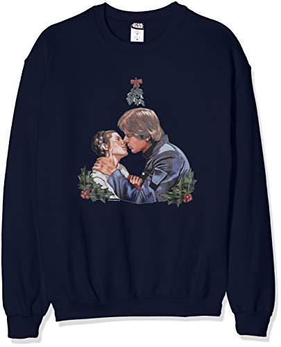 Star Wars heren Christmas Mistletoe Kiss sweatshirt