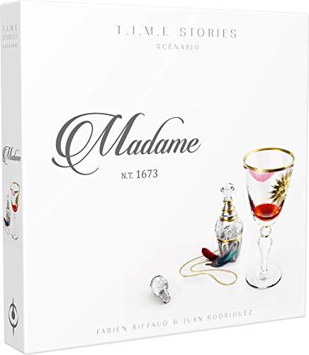 Time Stories – Extensión: Madame – Asmodee – Juego de Mesa – Juego de Mesa – Juego cooperativo