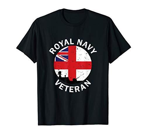 Retired British Royal Navy Veteran T-Shirt
