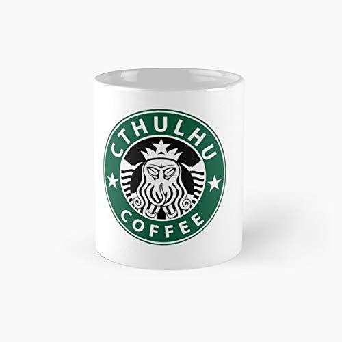 Taza clásica de café Cthulhu | El mejor regalo divertido tazas de 325 ml