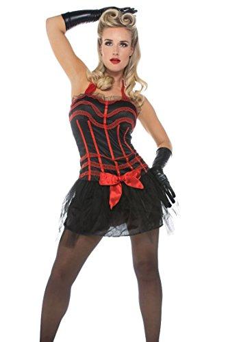 Disfraz de Adulto de Moulin Rouge, Vestido, de la Marca Folat