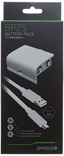 Gioteck - Gioteck - Pack de bateria de color blanco Gioteck BP2...