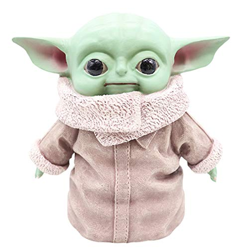 Hongzhi Craft 6 inch Baby Yoda Figure Toys The Child Yoda Resin Replica Collection Toy