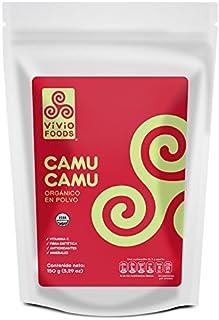 Vivio Foods, Camu Camu Orgánico En Polvo, 150 gramos