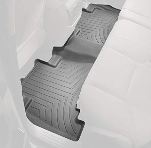 WeatherTech Rear FloorLiner for Select Toyota Camry Models (Gray) :