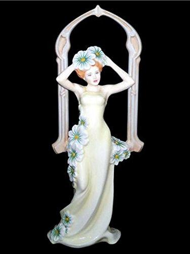 Royal Doulton FESTIVAL de invierno de Prestigio Nouvea colección Estatuilla Arte HN5201