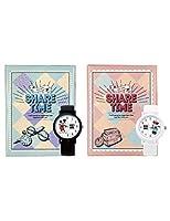【ディズニーペアウォッチ】 2本セット バレンタイン プレゼント包装あり【Disney】 日本製 ユニセックス 腕時計 ホワイト シリコンベルト ギフト プレゼント コーヒーバニラの香り