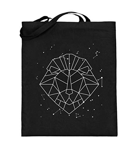 Generisch Sternbild Löwe Sternzeichen Jutebeutel | Horoskop Sterne Galaxie Baumwolltasche