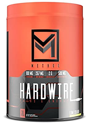Method Performance Nutrition Hardwire, Energy and Focus Formula, Electrolytes