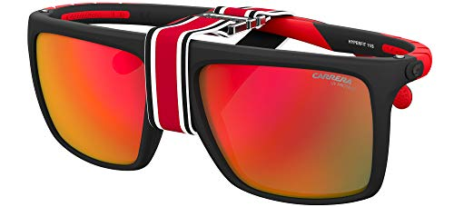 Carrera Gafas de Sol HYPERFIT 11/S Matte Black/Red 57/17/140 hombre
