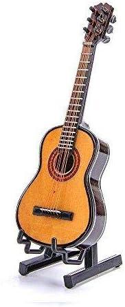 Alano Modelo de Guitarra de Madera Mini Instrumento Musical Modelo de Guitarra Clásica (G-14)