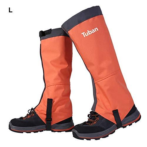 NBRR Funda para zapatos de esquí con raquetas de nieve, impermeable, resistente al viento, para senderismo, para caza, escalada, pesca, camping