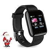 Leopold Smart Watch 2020 Nuovo Modello, Fitness Tracker Maschile e Femminile, cardiofrequenzimetro per ossimetro, Orologio Intelligente Impermeabile IPX7, Compatibile con iPhone/Android Samsung