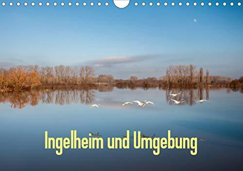 Ingelheim und Umgebung (Wandkalender 2021 DIN A4 quer)