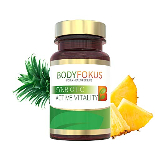 BodyFokus SynBiotic Active Vitality – A Strong Partner for Your Gut - 1 Bottle