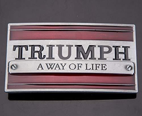 トライアンフ TRIUMPH A WAY OF LIFE バックル PU ベルト (バックルのみ) [並行輸入品]