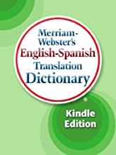 Merriam-Webster's English-Spanish Translation Dictionary