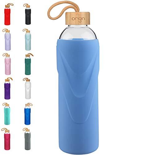 Origin Best BPA-Free Borosilicate Glass Water Bottle