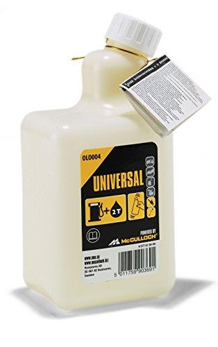 Universal 5119199874 Botella de mezcla OLO004 de 1 litro para mezclar aceite y gasolina de 2 tiempos, Standard