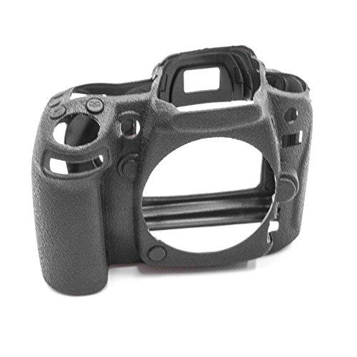 vhbw cámara Cubierta Bolsa Compatible con Nikon D90 cámara - Silicona Negro