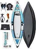 Kayak Individual Hinchable Atlantic Kayak Equipo Completo Color Azul