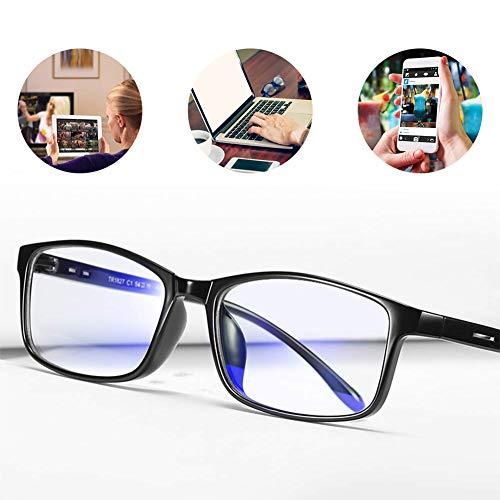 Blaulichtfilter Brille,Bildschirm-Brille,Computerbrille,Blaue Licht Blockieren Brille,Verringerung der Augenbelastung,Anti blaulicht,TV Brille für Frauen Männer,Anti UV,Brille mit Blaulichtfilter