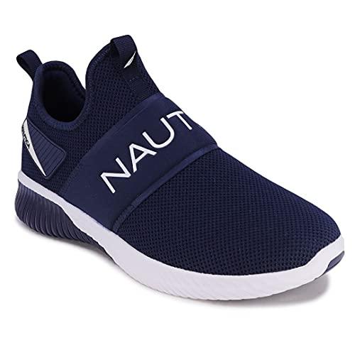 Nautica Men's Casual Fashion Sneakers-Walking Shoes-Lightweight Joggers-Steeper Sport-Navy-8