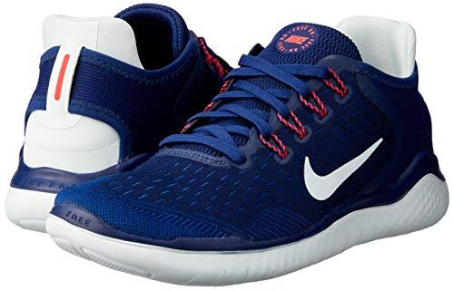 Nike Wmns Nike Free Rn 2018, Women's Track & Field Shoes, Multicoloured (Blue Void / Ghost Aqua / Indigo Force 404), 3 UK (36 EU)