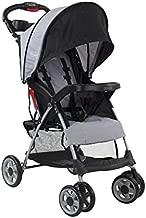 Kolcraft Cloud Plus Lightweight Easy Fold Compact Travel Baby Stroller, Slate Grey