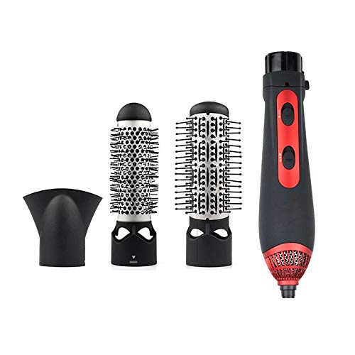 Peigne à air chaud Hot Air Comb Electric Hair Dryer 3 In 1 New Styler Kit For Salon&Home Styling Ceramic Hair Straightener&Curler&Dryer Comb