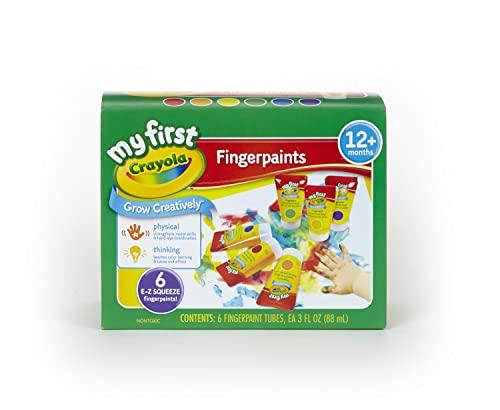 Product Image of the Crayola Washable Fingerpaints