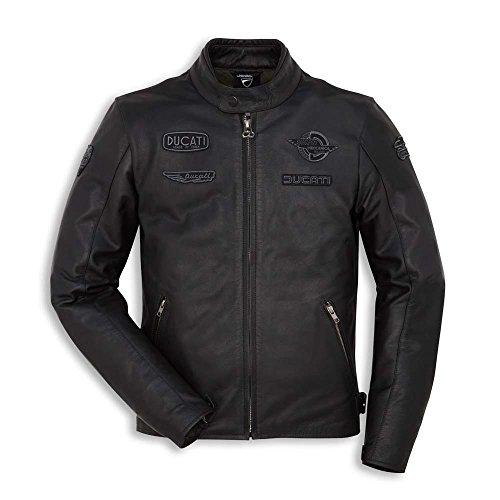 Ducati Heritage C1 Herren Lederjacke schwarz Größe 56