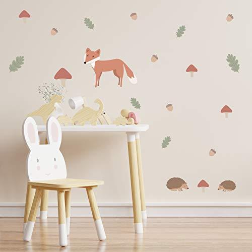 MINTKIND® Wandsticker Kinderzimmer