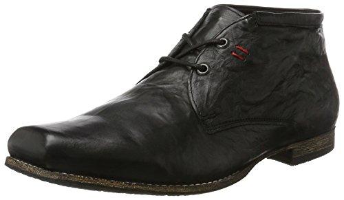 Think! Herren Guru_989696 Desert Boots, Schwarz (Schwarz 00), 41 EU