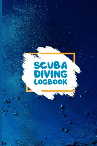 Scuba Diving Logbook: Beautiful Sea Turtles Dive Log Book Pages For Scuba Divers ~ Total Of 200 Entries, Small Travel Lined Notebook