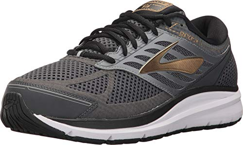 Brooks Addiction 13 Black/Ebony/Metallic Gold 8 EE - Wide
