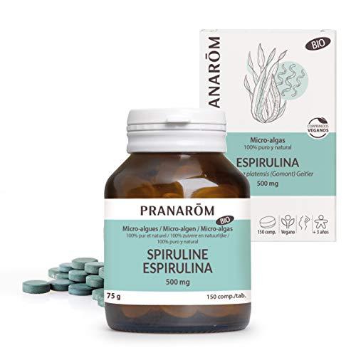 Pranarôm - Microalgas - Espirulina Bio - 150 comprimidos