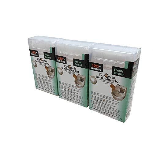 CatGenie 120 SaniSolution SmartCartridge-Fresh Scent 3-Pack