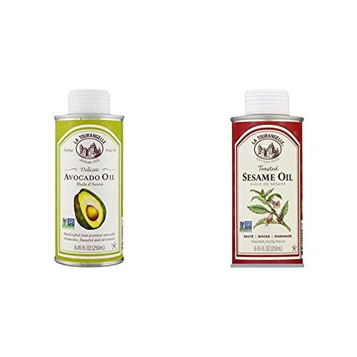 La Tourangelle Avocado Oil 8.45 Fl Oz, All-Natural,...