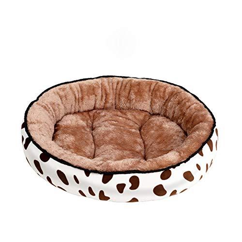 PET HOUND Hundebett Hundekörbchen Hundesofa Hundekissen Hundekorb Hundebett Warming Kennel Waschbar Haustier Floppy Extra Comfy Plüsch Rim Kissen Und rutschfeste Boden Hundebetten,XXL