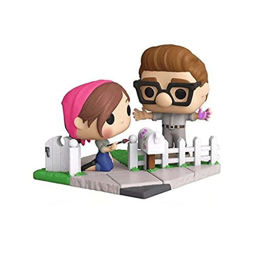 Funko Pop Movie : Up - Carl & Ellie (2020 NYCC Exclusive) 3.75inch Vinyl Gift for Anime Fans...